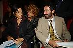ANTONIO SOCCI CON LA MOGLIE ALESSANDRA GIANNI E FIAMMA NIRENSTEIN<br /> PREMIO LETTERARIO CAPALBIO 2002