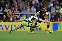 during the Premiership Rugby Round 2 match between Wasps and Northampton Saints at Adams Park on Sunday 14th September 2014 (Photo by Rob Munro)