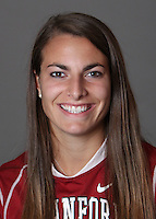 STANFORD, CA - OCTOBER 29:  Amanda Hechinger of the Stanford Cardinal women's lacrosse team poses for a headshot on October 29, 2009 in Stanford, California.