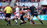 Saturday 18th January 2020 | Ulster vs Bath<br /> <br /> Alan O'Connor during the Heineken Champions Cup Pool 3 Round 6 match between Ulster Rugby and Bath Rugby at Kingspan Stadium, Ravenhill Park, Belfast, Northern Ireland. Photo by John Dickson / DICKSONDIGITAL