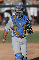 Noah Cardenas (25) of the UCLA Bruins during a game against the USC Trojans at Dedeaux Field on March 28, 2021 in Los Angeles, California. UCLA defeated USC, 13-1. (Larry Goren/Four Seam Images)