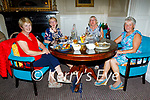 Enjoying the evening in Listowel Arms Hotel on Thursday, l to r: Mary Walsh, Norita Kileen, Mary Comerford and Julie Gleeson (All Listowel).