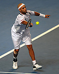 January 20, 2010T\.James Blake of the USA, in action, during his 6-4, 5-7,5-7,6-3, 10-10 in the second rouond of The Australian Open, Melbourne Park, Melbourne, Australia.