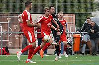 Flanke Alexander Melchior (Geinsheim) - Büttelborn 03.10.2021: SKV Büttelborn vs. SV 07 Geinsheim, Gruppenliga