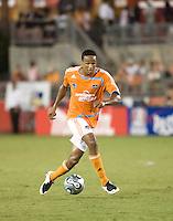 Houston Dynamo midfielder Ricardo Clark. The Houston Dynamo tied the Columbus Crew 1-1 in a regular season MLS match at Robertson Stadium in Houston, TX on August 25, 2007.