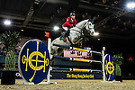 Hans-Dieter Dreher of Germany riding Cool And Easy in action during the Hong Kong Jockey Club Trophy competition as part of the Longines Hong Kong Masters on 13 February 2015, at the Asia World Expo, outskirts Hong Kong, China. Photo by Victor Fraile / Power Sport Images