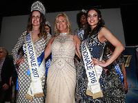 ELSA MAWART, prÈsidente du comitÈ MISS NATIONALE entourÈe d'ANAELLE BAGOT Miss Nationale 2017 & EUGENIE JOURNEE mISS nATIONALE 2016 - Soiree Elections MISS NATIONALE 2017 MISS NEW MODEL JUNIOR MISS NEW MODEL FRANCE & MISS NATIONALE PETITE