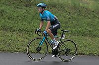 22nd May 2021, Monte Zoncolan, Italy; Giro d'Italia, Tour of Italy, route stage 14, Cittadella to Monte Zoncolan; 45 PRONSKIY Vadim KAZ