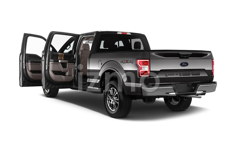Car images of 2018 Ford F-150 Lariat 4 Door Pick-up Doors