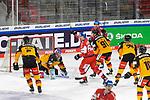 Eishockey: Deutschland – Tschechien am 01.05.2021 in der ARENA Nürnberger Versicherung in Nürnberg<br /> <br /> tor zum 4:4 durch Tschechiens Jakub Galvas (Nr.7) (hier nicht im Bild)<br /> <br /> Foto © Duckwitz/osnapix/PIX-Sportfotos *** Foto ist honorarpflichtig! *** Auf Anfrage in hoeherer Qualitaet/Aufloesung. Belegexemplar erbeten. Veroeffentlichung ausschliesslich fuer journalistisch-publizistische Zwecke. For editorial use only.