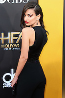 HOLLYWOOD, LOS ANGELES, CA, USA - NOVEMBER 14: Emily Ratajkowski arrives at the 18th Annual Hollywood Film Awards held at the Hollywood Palladium on November 14, 2014 in Hollywood, Los Angeles, California, United States. (Photo by Xavier Collin/Celebrity Monitor)