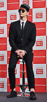 Sungje(Choshinsung, Supernova), Aug 30, 2013 : Tokyo, Japan : Sungje of Korean boy band Supernova attends a press conference for new promotion video of Lotte Duty Free shop in Tokyo, Japan, on August 30, 2013.