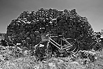 Pajara nei pressi di Torre Uluzzo. Le biciclette sono utilizzate dai turisti per i percorsi cicloturistici.