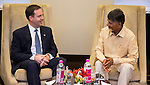 Meeting with Chief Minister of Andhra Pradesh, Chandrababu Naidu