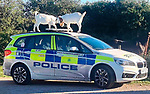 Goats on Hampshire Police cars