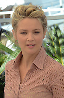 Virginie Efira attends the 'Elle' Photocall during the 69th annual Cannes Film Festival at the Palais des Festivals on May 21, 2016 in Cannes, France.