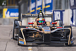 Jean-Eric Vergne of France from TECHEETAH competes in the Formula E Qualifying Session 1 during the FIA Formula E Hong Kong E-Prix Round 1  at the Central Harbourfront Circuit on 02 December 2017 in Hong Kong, Hong Kong. Photo by Marcio Rodrigo Machado / Power Sport Images