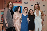 "NEW YORK - MARCH 4: (L-R) Judy Gold, Mikey Madison, Hannah Alligood, Olivia Edward and Alysia Reiner attend the season 4 premiere of FX's ""Better Things"" at the Whitby Hotel on March 4, 2020 in New York City. (Photo by Anthony Behar/FX Networks/PictureGroup)"
