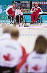 Ina Forrest, Sochi 2014 - Wheelchair Curling // Curling en fauteuil roulant.<br /> Canada takes on Russia in the Gold Medal Wheelchair Curling match // Le Canada affronte la Russie dans le match pour la médaille d'or de curling en fauteuil roulant. 15/03/2014.