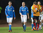 St Johnstone v Partick Thistle....17.01.15  SPFL<br /> Smiles on the faces of goalscorers Dave Mackay and Steven Anderson at full time<br /> Picture by Graeme Hart.<br /> Copyright Perthshire Picture Agency<br /> Tel: 01738 623350  Mobile: 07990 594431