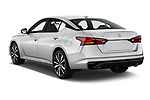 Car pictures of rear three quarter view of 2020 Nissan Altima SR-FWD 4 Door Sedan Angular Rear