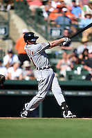 Detroit Tigers infielder Josh Wilson (81) during a Spring Training game against the Baltimore Orioles on March 4, 2015 at Ed Smith Stadium in Sarasota, Florida.  Detroit defeated Baltimore 5-4.  (Mike Janes/Four Seam Images)