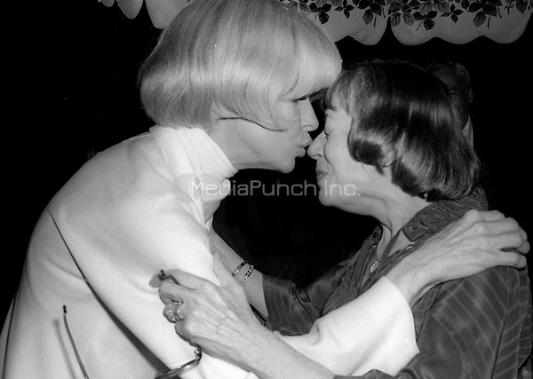 Carol Channing and Imogene Coca 1978<br /> Photo By Adam Scull/PHOTOlink /MediaPunch