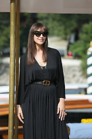 VENICE, ITALY - AUGUST 29: Actress Monica Bellucci is seen arriving at the Darsena for the 76th Venice Film Festival on August 29, 2019 in Venice, Italy. (Photo by Mark Cape/Insidefoto)<br /> Venezia 29/08/2019