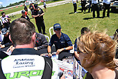 Pirelli World Challenge<br /> Grand Prix of Road America<br /> Road America, Elkhart Lake, WI USA<br /> Saturday 24 June 2017<br /> Peter Kox, Ryan Eversley<br /> World Copyright: Richard Dole/LAT Images<br /> ref: Digital Image RD_USA_00192