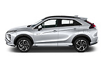 Car Driver side profile view of a 2021 Mitsubishi Eclipse-Cross-PHEV Instyle 5 Door SUV Side View