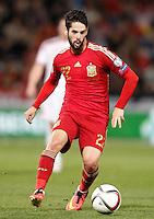 Spain's Isco during 15th UEFA European Championship Qualifying Round match. November 15,2014.(ALTERPHOTOS/Acero) /NortePhoto nortephoto@gmail.com
