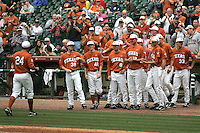 NCAA Baseball featuring the Texas Longhorns against the Missouri Tigers. Green, Cole 9605  at the 2010 Astros College Classic in Houston's Minute Maid Park on Sunday, March 7th, 2010. Photo by Andrew Woolley