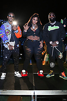 """ATLANTA, GA - SEPTEMBER 22, 2020 LiL Bam, Jucee Fruit & Rick Ross on the set of the """"Julio"""" remix video shoot September 22, 2020 in Atlanta, Georgia. ( No Negative Caption Or Stories )<br /> CAP/MPI/WG<br /> ©WG/MPI/Capital Pictures"""