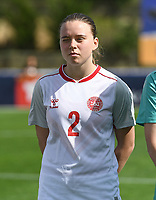 20200304  Parchal , Portugal : Danish forward Emma Snerle (2) pictured during the female football game between the national teams of Denmark and Norway on the first matchday of the Algarve Cup 2020 , a prestigious friendly womensoccer tournament in Portugal , on wednesday 4 th March 2020 in Parchal , Portugal . PHOTO SPORTPIX.BE | DAVID CATRY