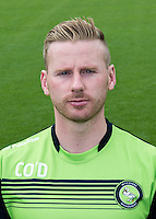 Wycombe Wanderers Physiotherapist Cian O'Doherty during the Wycombe Wanderers 2016/17 Team & Individual Squad Photos at Adams Park, High Wycombe, England on 1 August 2016. Photo by Jeremy Nako.