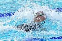 France's Jeremy Stravius swims during a men's 100 meters backstroke semifinal at the Swimming World Championships in Rome, 27 July 2009..UPDATE IMAGES PRESS/Riccardo De Luca