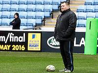 Photo: Richard Lane/Richard Lane Photography. Wasps v Newcastle Falcons. Aviva Premiership. 06/02/2016. Wasps Director of Rugby, Dai Young.