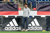 FOXBOROUGH, MA - SEPTEMBER 5: Tormenta FC coach Ian Cameron during a game between Tormenta FC and New England Revolution II at Gillette Stadium on September 5, 2021 in Foxborough, Massachusetts.