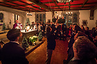 December 10, 2017; Alumni Hall Candlelight Mass (Photo by Matt Cashore/University of Notre Dame)