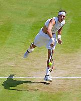 25-6-09, England, London, Wimbledon, JU]uan Martin Del Porto