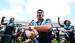 Botany Downs celebrate. Auckland 1B 1st XV Final, Botany Downs v One Tree Hill, Eden Park Auckland, New Zealand, Saturday 26 Auguat 2017. Photo: Simon Watts/www.bwmedia.co.nz