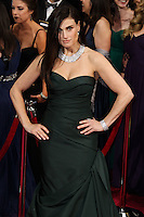 HOLLYWOOD, LOS ANGELES, CA, USA - MARCH 02: Idina Menzel at the 86th Annual Academy Awards held at Dolby Theatre on March 2, 2014 in Hollywood, Los Angeles, California, United States. (Photo by Xavier Collin/Celebrity Monitor)