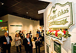 October 31, 2018: Scenes from the grand unveiling of the Trainer D. Wayne Lukas exhibit at the Kentucky Derby Museum at Churchill Downs on October 31, 2018 in Louisville, Kentucky. Scott Serio/Eclipse Sportswire/CSM