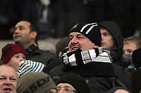 Pictured: Swansea supporters. Saturday, 04 February 2012<br /> Re: Premier League football, West Bromwich Albion v Swansea City FC v at the Hawthorns Stadium, Birmingham, West Midlands.