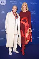 Vanessa Redgrave and Joely Richardson<br /> arriving for the British Independent Film Awards 2017 at Old Billingsgate, London<br /> <br /> <br /> ©Ash Knotek  D3359  10/12/2017