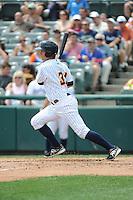 Trenton Thunder infielder Casey Stevenson (31) during game against the Binghamton Mets at ARM & HAMMER Park on July 27, 2014 in Trenton, NJ.  Trenton defeated Binghamton 7-3.  (Tomasso DeRosa/Four Seam Images)