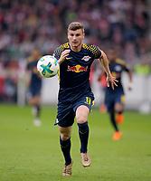 11.03.2018,  Football 1.Liga 2017/2018, 26. match day,  VfB Stuttgart - RB Leipzig, in Mercedes-Benz-Arena Stuttgart. Timo Werner (RB Leipzig) . *** Local Caption *** © pixathlon<br /> <br /> +++ NED + SUI out !!! +++<br /> Contact: +49-40-22 63 02 60 , info@pixathlon.de