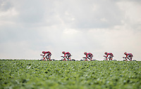 Team Katusha<br /> <br /> 12th Eneco Tour 2016 (UCI World Tour)<br /> stage 5 (TTT) Sittard-Sittard (20.9km) / The Netherlands