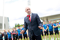 RFEF's President Luis Rubiales visits the national soccer team training session. June 5,2018.(ALTERPHOTOS/Acero) /NortePhoto.com NORTEPHOTOMEXICO