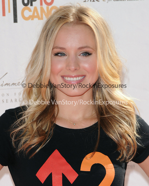 Kristen Bell at Stand Up to Cancer held at Sony Picture Studios in Culver City, California on September 10,2010                                                                               © 2010 Hollywood Press Agency